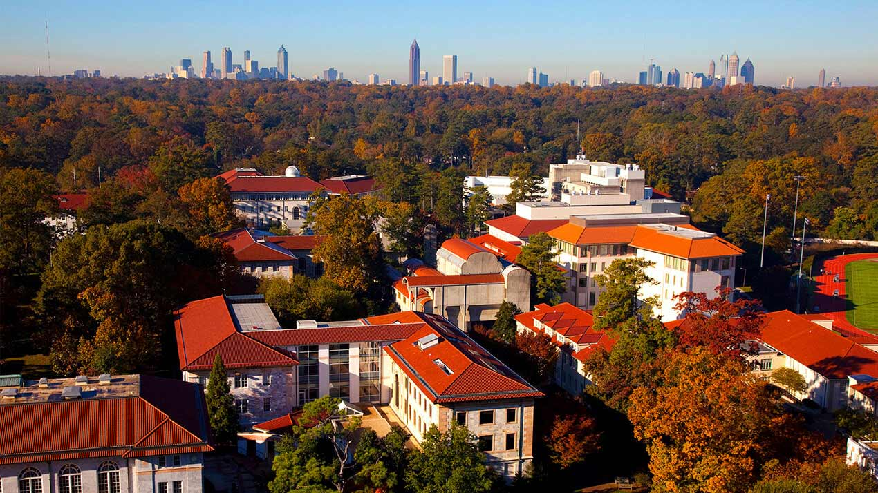 Emory-Atlanta skyline